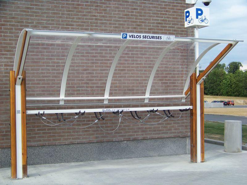 abri sécurisé, parc de stationnement