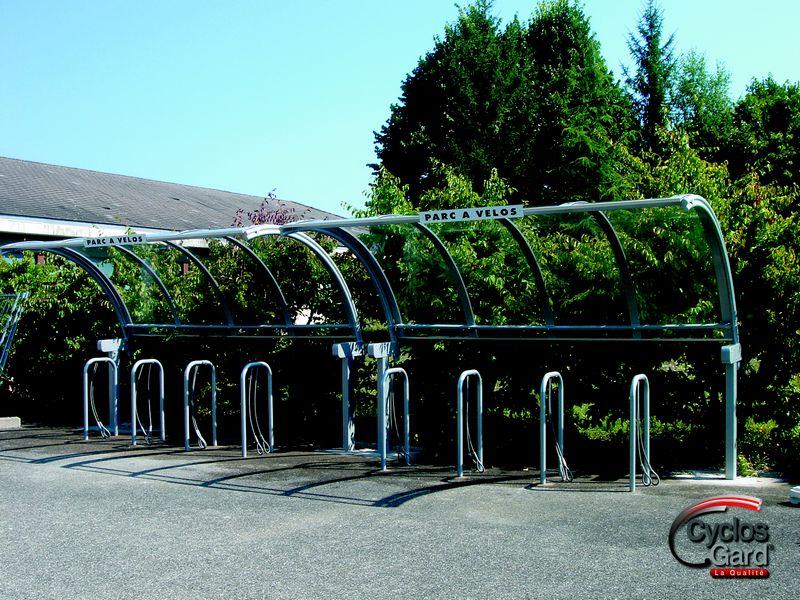 parcs et supports vélos
