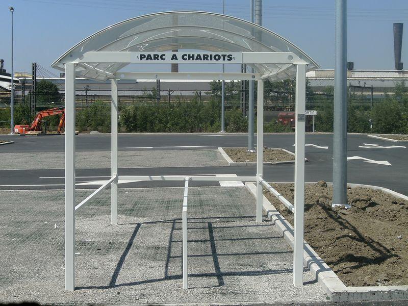 range chariots, parc en fer