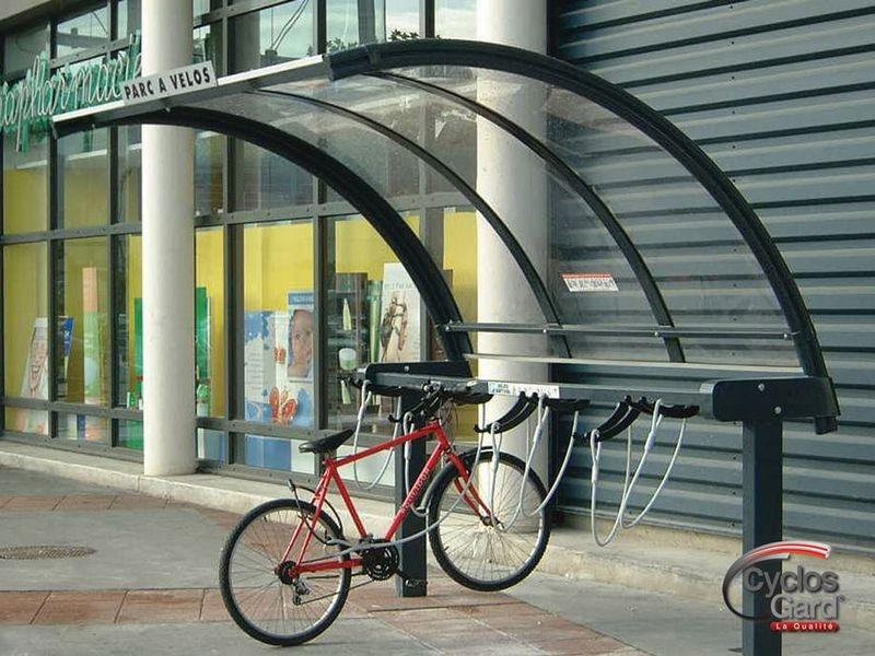 parc de stationnement deux roues